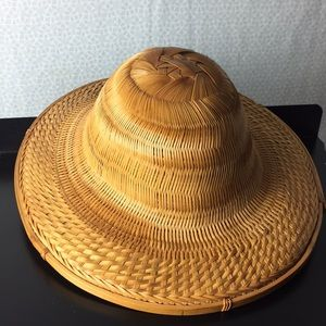 Accessories - Vintage Asian Rice Paddy Hat